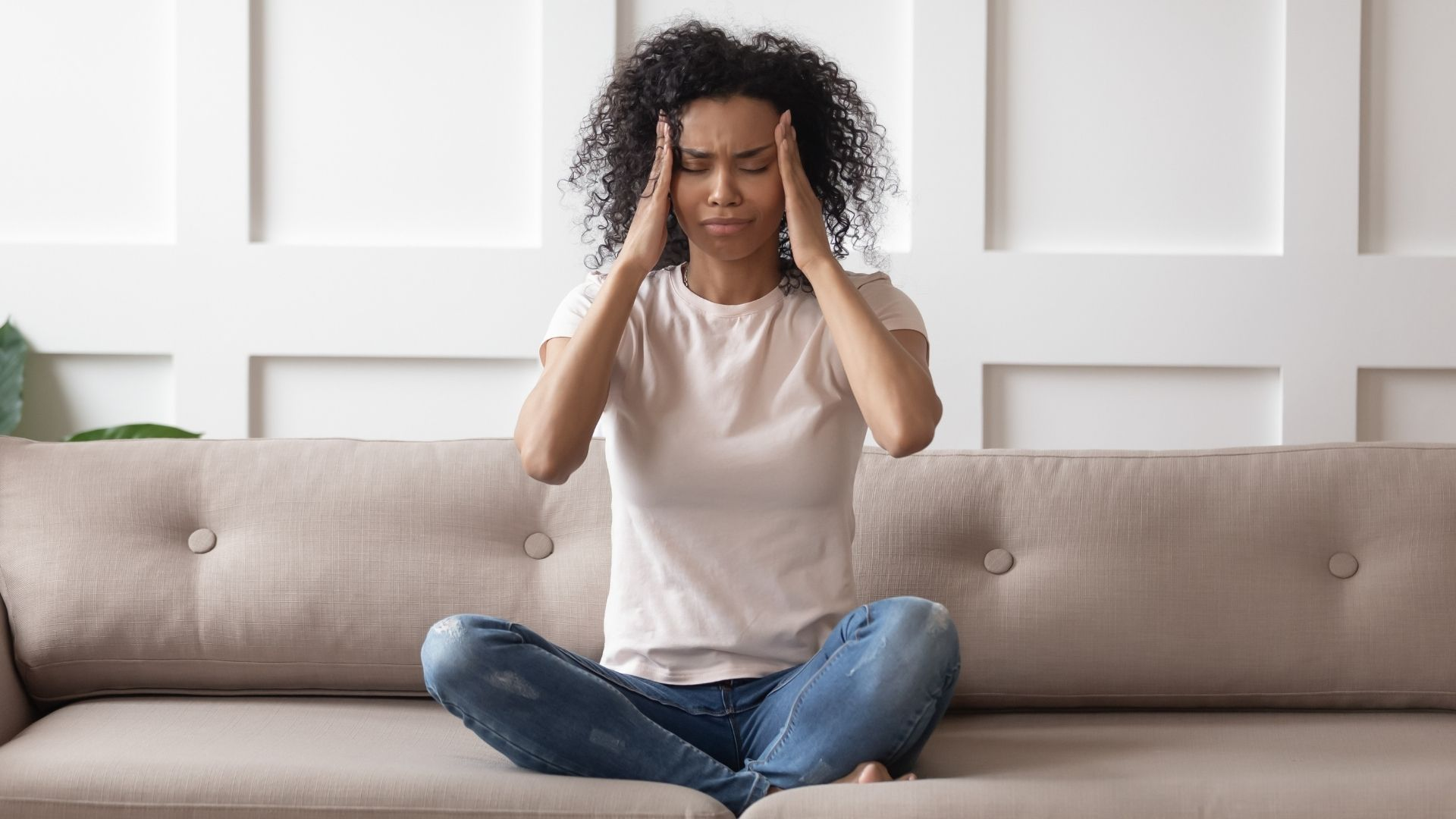 Women stressed with hormone imbalance